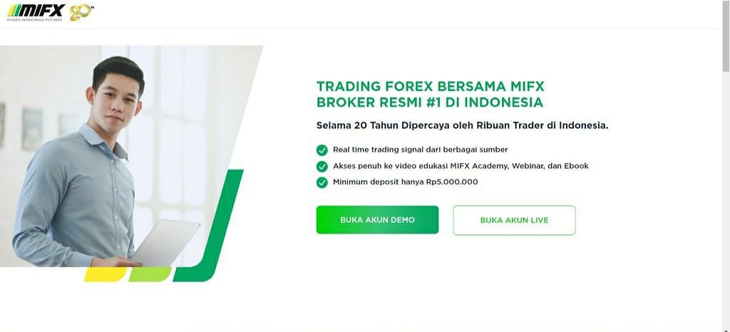 Broker forex resmi MIFX
